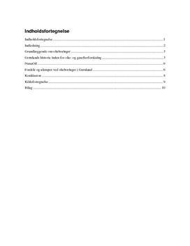 Olie i Grønland - Undersøgelse af Olieboringer