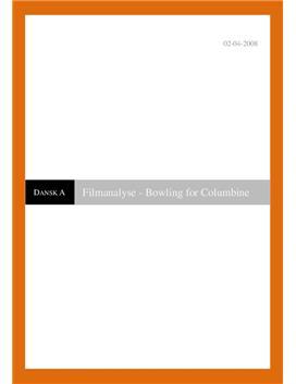 Dansk filmanalyse af Bowling for Columbine