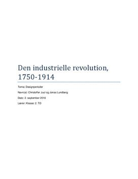 Den industrielle revolution | Design B