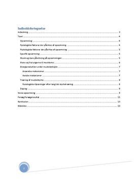 Teori om opvarmning | Idrætsrapport