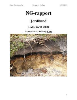 Undersøgelse af Jordbundstyper - Sand og Ler