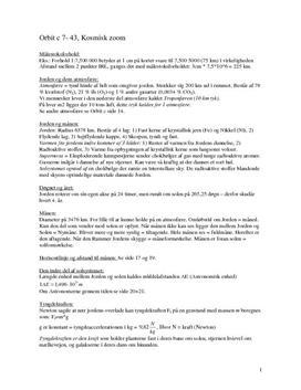 Noter til Orbit C - Fysik på C-niveau