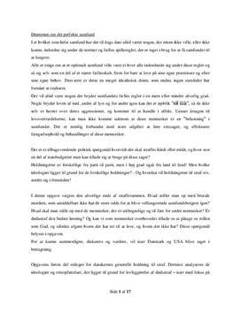 SRP om Dødsstraf i Samfundsfag A og Engelsk A