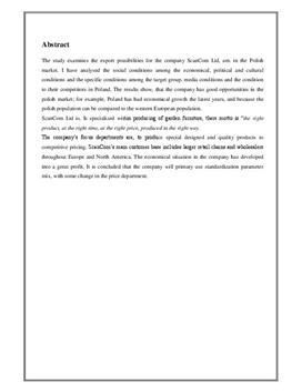 SOP: ScanCom International A/S i Afsætning og VØ