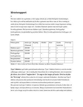 Forbedring af konditionstal i BIP-testen | Træningsprogram