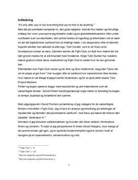 SRP om Fight Club i Engelsk A og Mediefag B