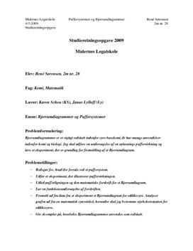 SRO om Bjerrumdiagrammer og Puffersystemer i Matematik og Kemi