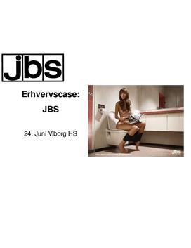 Præsentation af Erhvervscase om JBS