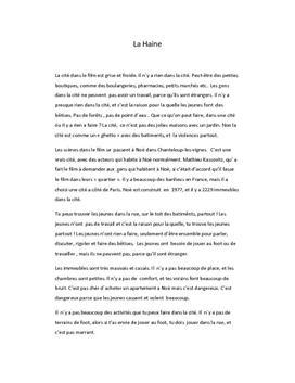 La Haine | Analyse