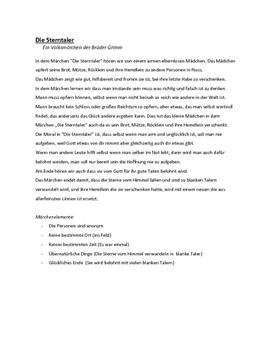 Die Sterntaler - Brüder Grimm | Eventyranalyse