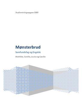 SRO om social arv og mønsterbrud i samfundsfag A og engelsk A