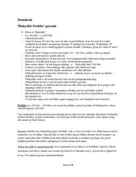 Disposition: Thukydid og Xenofon