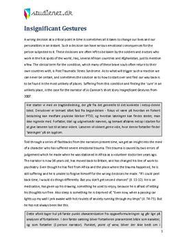 essay engelsk eksempel