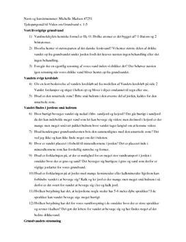 Noter til Viden om Grundvand