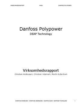 Innovation - Danfoss virksomhedsrapport   Virksomhedsøkonomi A