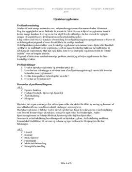 EP BIO/GEO: Hjertekarsygdomme