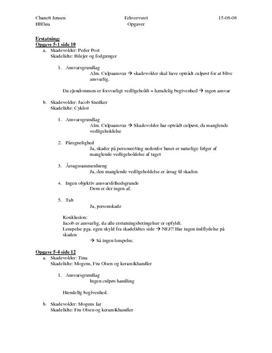 Besvarelse på Erhvervsretopgaverne fra opgavebog