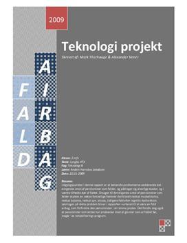 Teknologi rapport om personsikkerhed