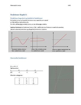 Matematik B HHX noter