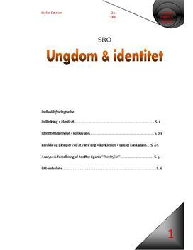 SRO om ungdom og identitet | Samfundsfag A og Psykologi B