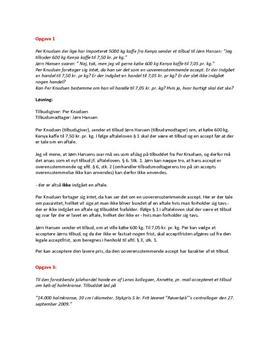 Aftaleret | Erhvervsret C