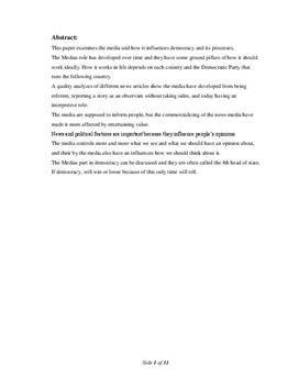 SRP om Politisk Kommunikation i Samfundsfag A og Historie A