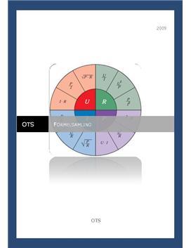 Formelsamling til Teknologi C