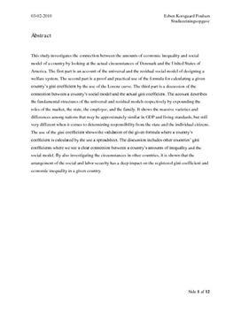 SRO om velfærdsstat og ulighed i Matematik A og Samfundsfag B