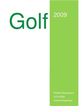 SRP om Golfsportens udvikling i Fysik A og Idræt B