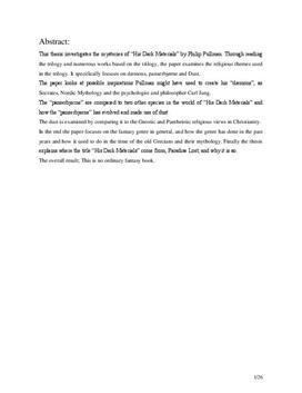 SRP: Philip Pullman og Det Gyldne Kompas