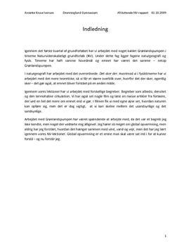 NV-Rapport - Grønlandspumpen og Termohalin Cirkulation