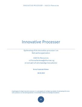Innovative processer