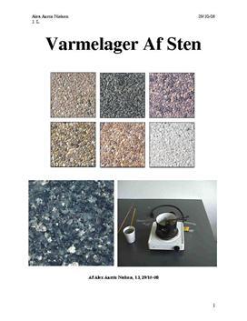 Varmefylde - Granit