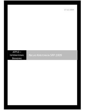 SOP om Apple's Internationale Branding i Afsætning og Engelsk