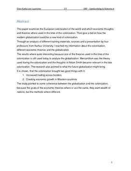 SRP: Englands Kolonisering af Indien i Historie og Samfundsfag