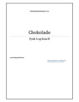 SRP om Chokolade i Fysik A og Kemi B