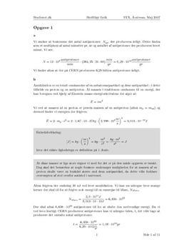 Download skriftlig fysik, stx a. maj 2007