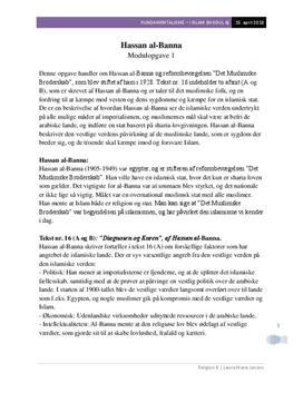 Hassan al-Bannas Diagnosen & kuren | Analyse