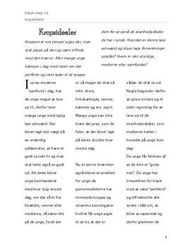 essay om et godt liv Jeg har skrevet et kort essay om, hvad et godt liv er for mig jeg har også taget noget fakta og andre synspunkter med i essayet.