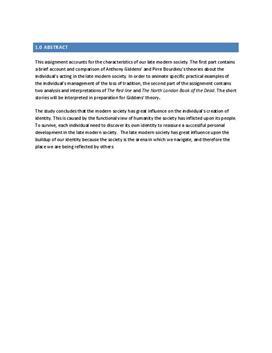 SRO om samfund, socialisering og identitet i samf A og eng B
