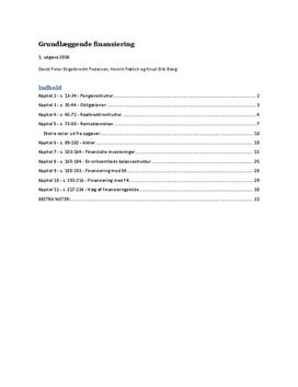Noter til Grundlæggende finansiering - Systime