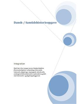 Opgave om integration i Danmark