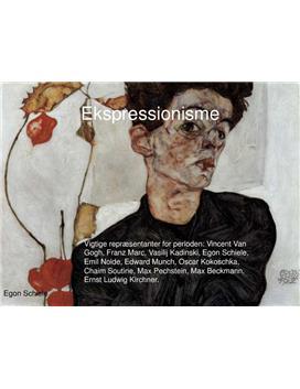 Præsentation af Ekspressionisme | Power Point