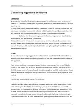 Rapport om istiden - Ekskursion til Dyrehaven   Naturgeografi B