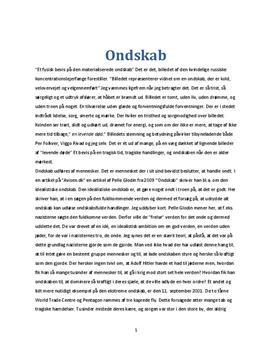 eksempel på dansk essay stx