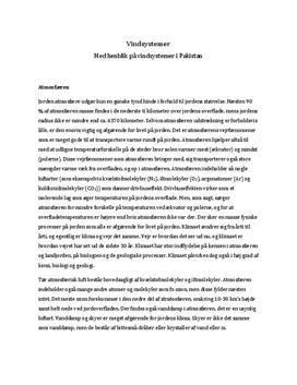Det Globale Vindsystem - Noter i Naturgeografi