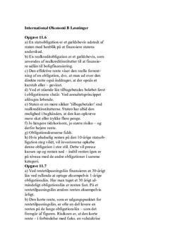 Kurlund International Økonomi B Opgave Kap 11.6-11.12