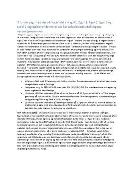 Delopgave A: Økonomisk Regulering | Samfundsfag A