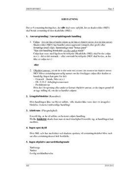 Erhvervsret kap 5 - Erstatning