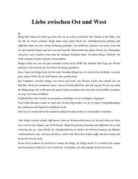 Liebe zwischen Ost und West